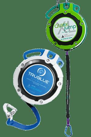 Устройство свободного падения – QUICKjump и Автоматическая страховка для скалодрома «Trublue» от «Head Rush Technologies»