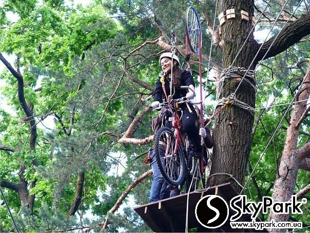 2009, The first adventure park of the SKYPARK company 'Gold City. Atek' (Kiev)