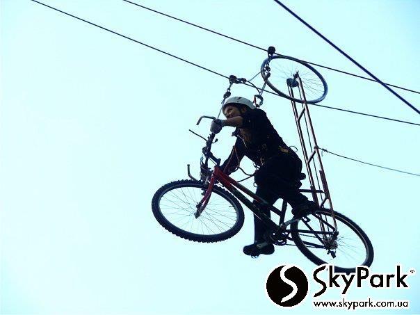 2009 р. Перший мотузковий парк компанії «СКАЙПАРК» «Місто Золоте. Атек »(м. Київ)