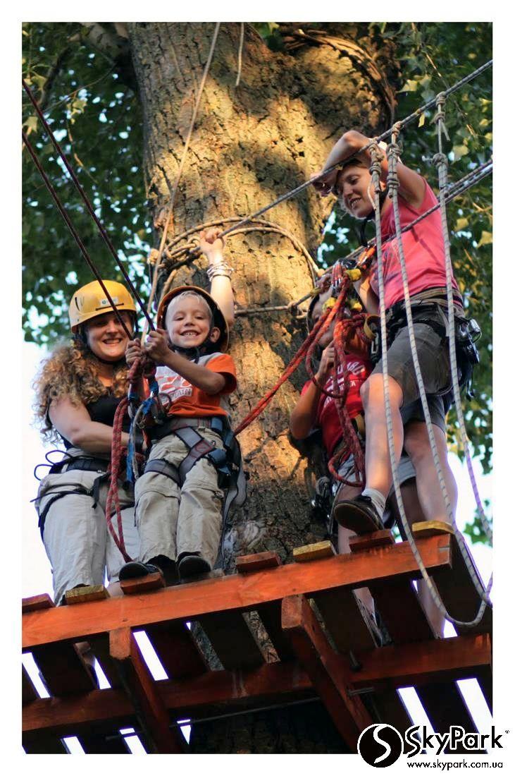2011 р. Мотузковий парк «Острів Пригод» (м. Київ, Гідропарк)