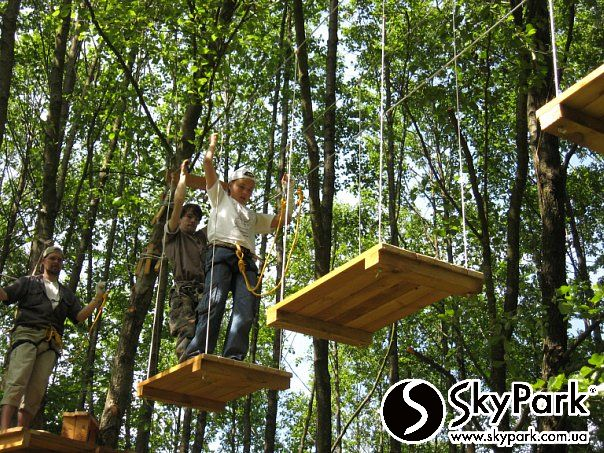 2010, the adventure park 'The Adventure Trail' over 400m in length