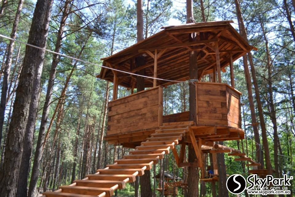 2014, Private adventure park (Chernihiv region) 200m in length