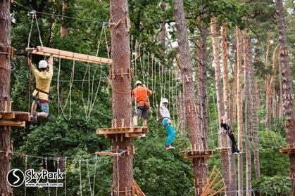 2015 р. Мотузковий парк компанії «Скайпарк» «Виноградар» (м. Київ)