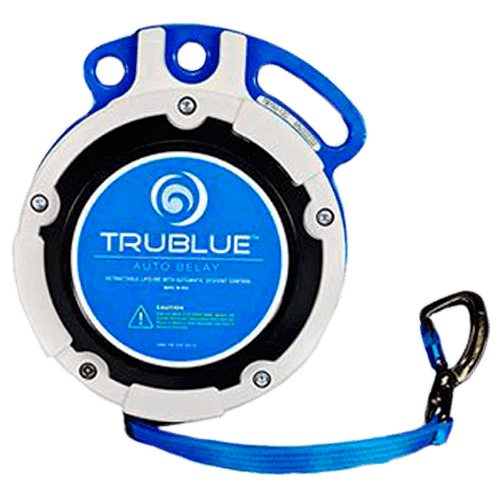 TRUEBLUE auto belay for climbing walls